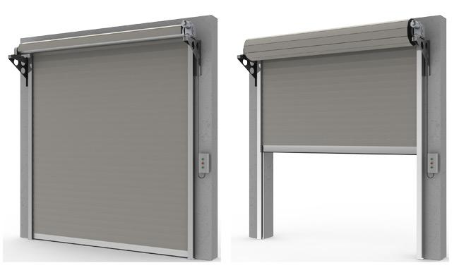 Porte tipo serrande porte da garage sezionali mca - Porta garage sezionale prezzi ...