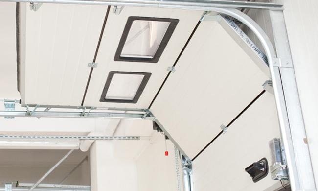 Porte sezionali industriali porte da garage sezionali mca - Porte de garage industrielle sectionnelle ...