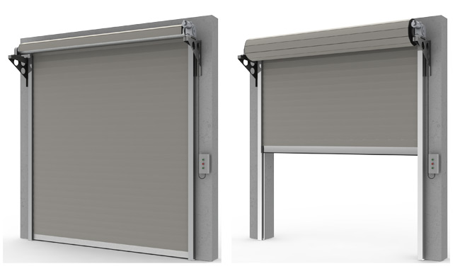Porte da garage sezionali mca - Porta per soffitta ...
